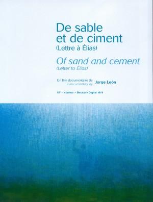 De sable et de ciment, lettre à Elias